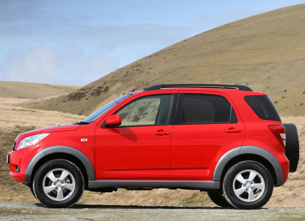 Daihatsu Terios technical specifications and fuel economy